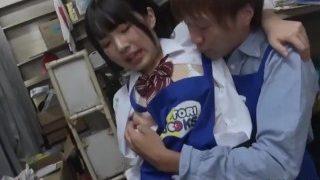 น้องฮิคารุ โดนจัดหนักในห้องสมุด |Jav Idol Hikaru Minazuki Ambushed In Book Store Fucks In Her Uniform